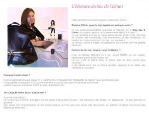 L'Histoire du Sac de Céline