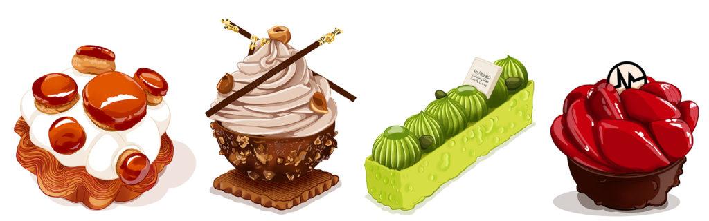 Creations pâtissières Françaises